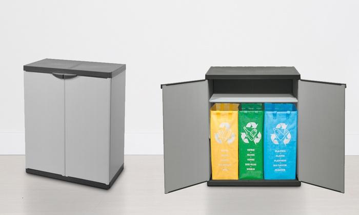 mobili per la raccolta differenziata